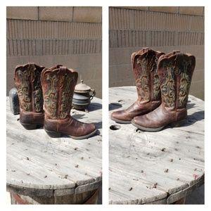 Justin Cowboy Boots Size 7B
